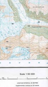 ネパール1/5万地形図