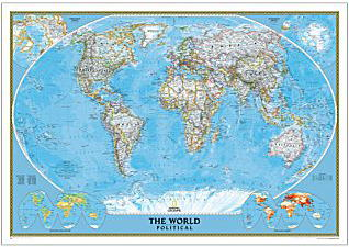 世界地図クラシック
